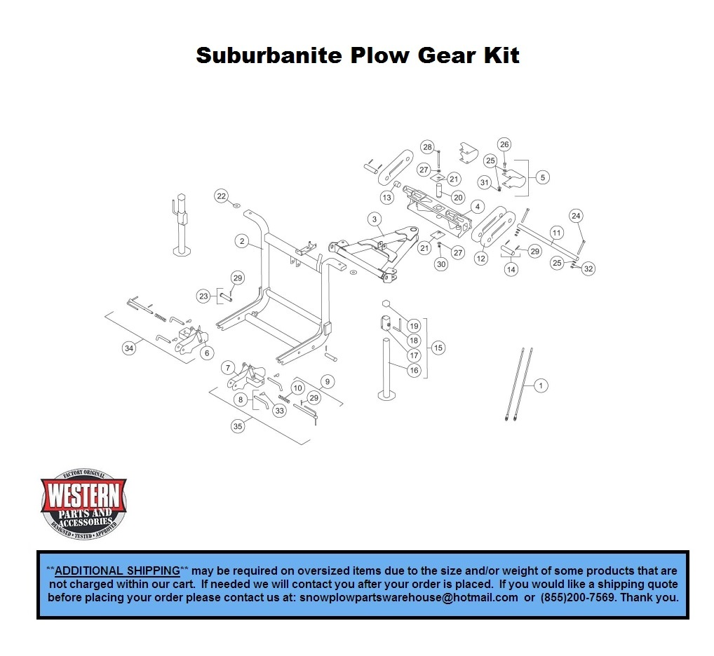 Plow Gear Kit