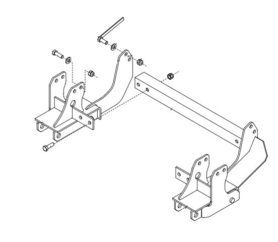 Snowplow Mounts, Brackets