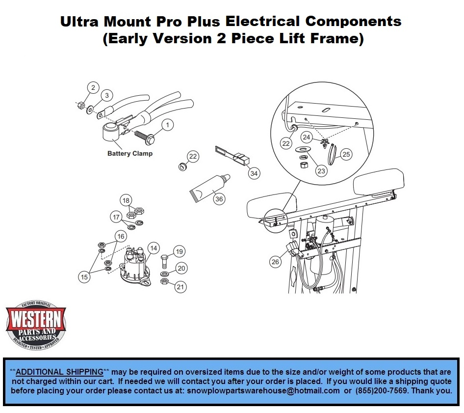 Electrical Components - Plow Side