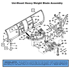 Heavyweight on Western Snow Plow Parts Diagram