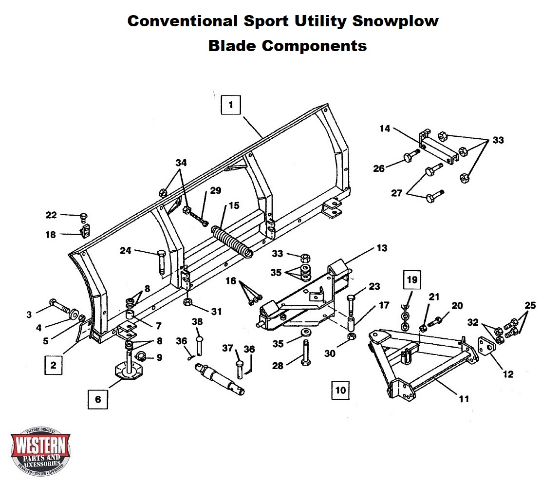 Sport Utility Snowplow Diagrams