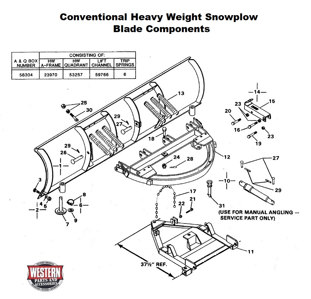 Heavy Weight Snowplow Diagrams