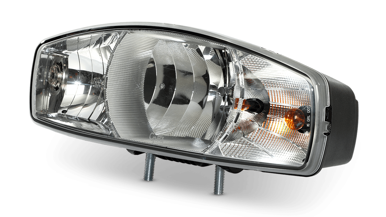 Headlight Parts (Nighthawks 38800, Dual Bulb)