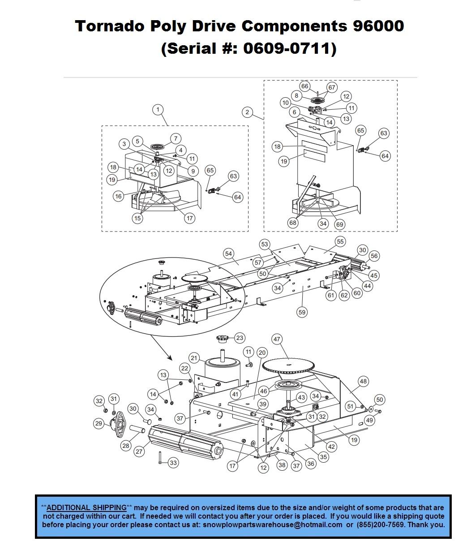Tornado 96000 (Serial # 0609 - 0711) - TORNADO HOPPER SPREADER - V on