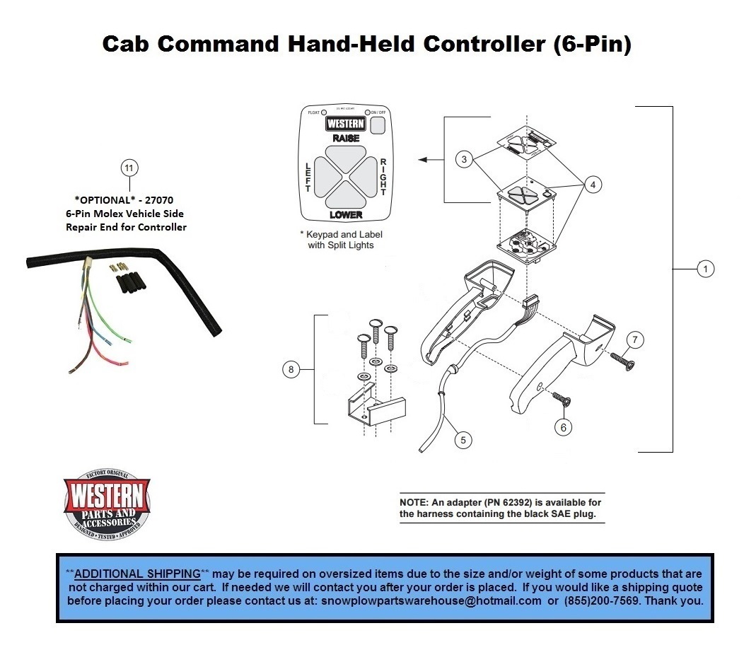 Western Unimount Pro Plow Wiring Diagram on