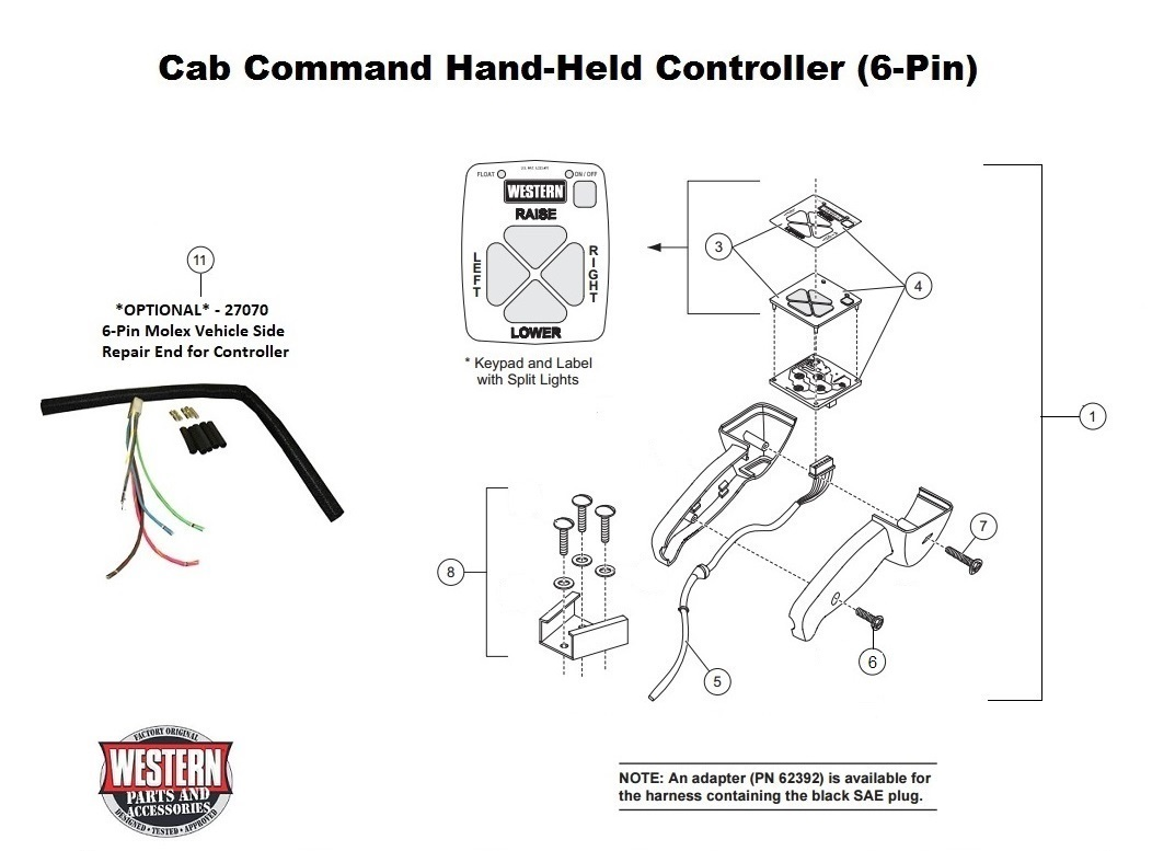 Western Plow Controller 40 Pin Wiring Diagram   Fusebox and Wiring ...