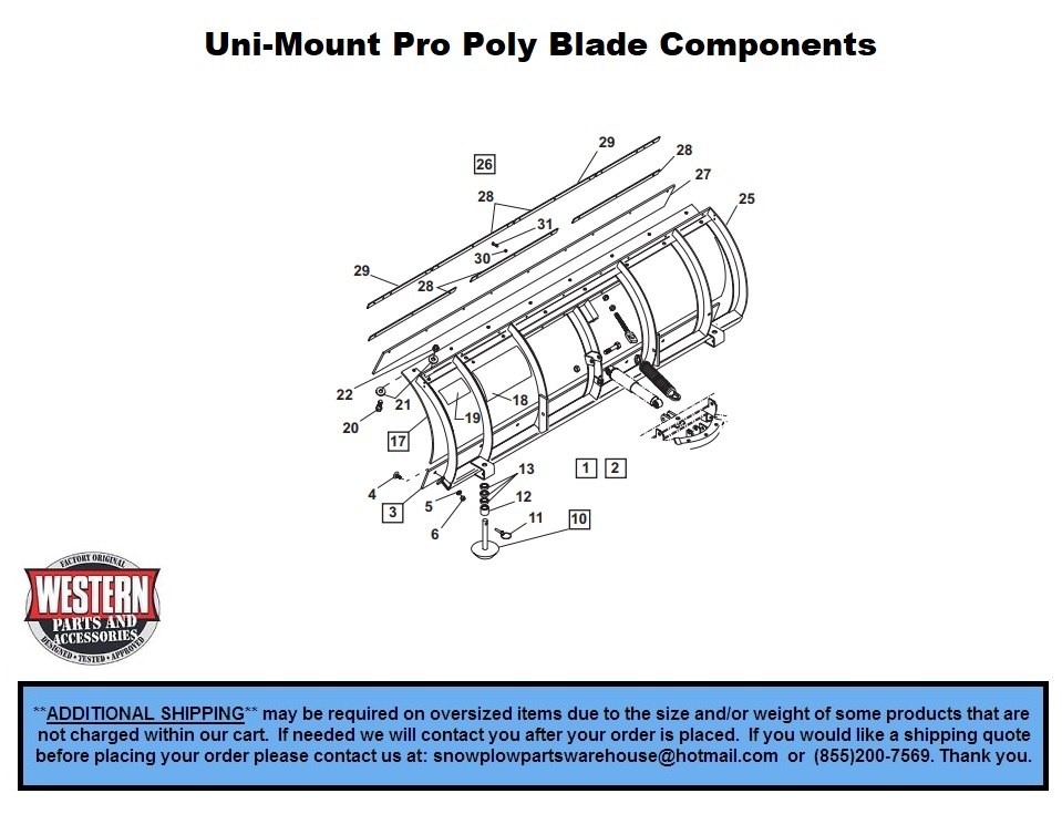Western Poly Blade Snow Plow Wiring Diagram on