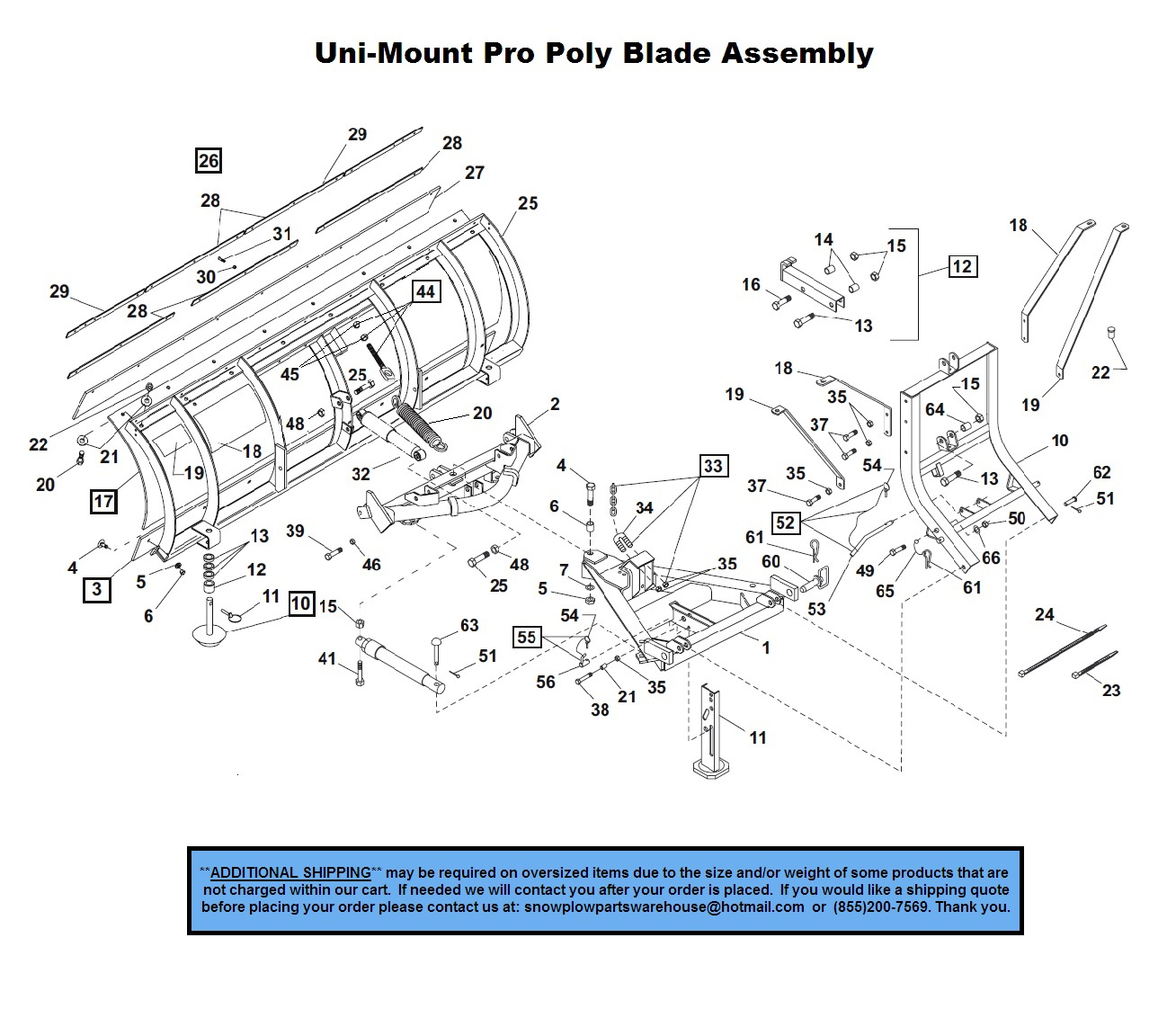Western Snow Plow Wiring Diagram Roller Hand Fuse Pro Poly Uni Mount Plows Part Diagrams Products Rh Snowplowpartswarehouse Com Chevy