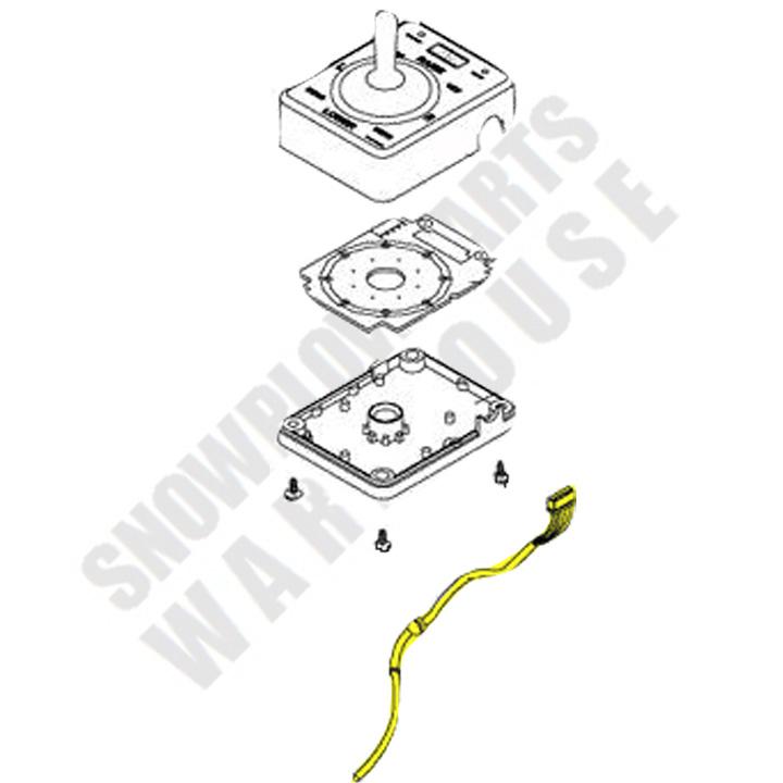 harness joystick v-plow 10-pin